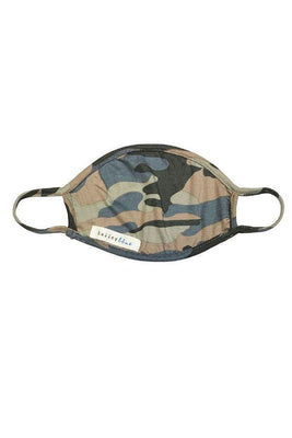 The Filtered Classic (Adults) Masks Bailey Blue Pattern - Camo