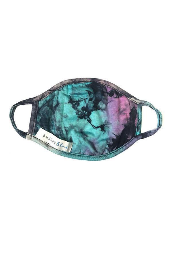 The Filtered Classic (Adults) Masks Bailey Blue Tie Dye - Purple Haze