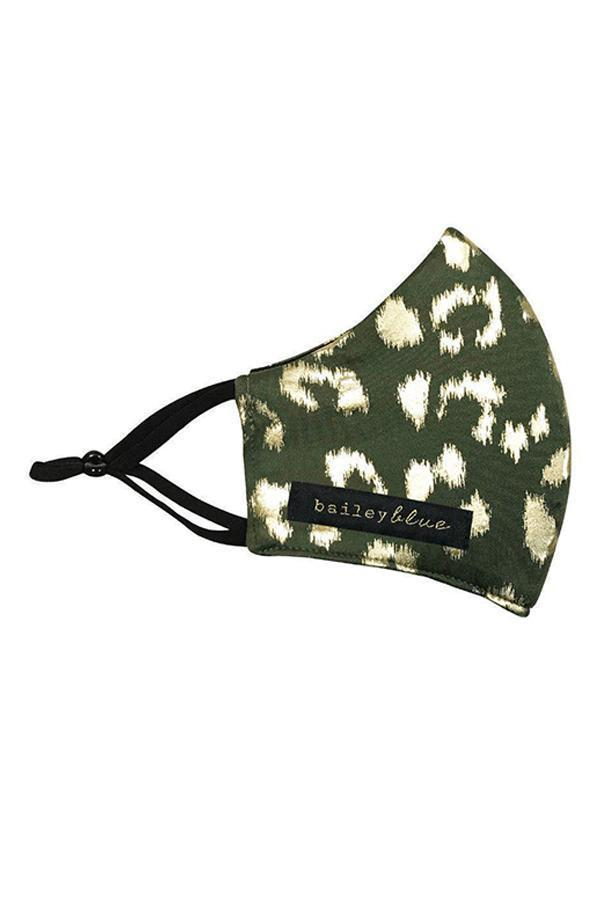 Olive Disco Leopard