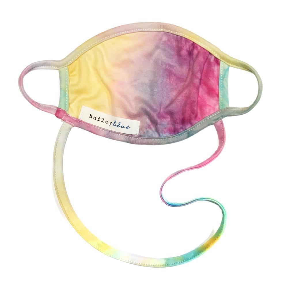 The Ultimate (Kids) Masks Bailey Blue Tie Dye - Sherbert