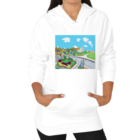 Numeric City Pullover (on woman) - Zelza Zero®  - 1