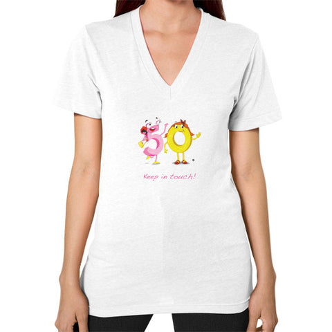 V-Neck (on woman) - Keep In Touch - Zelza Zero®  - 1