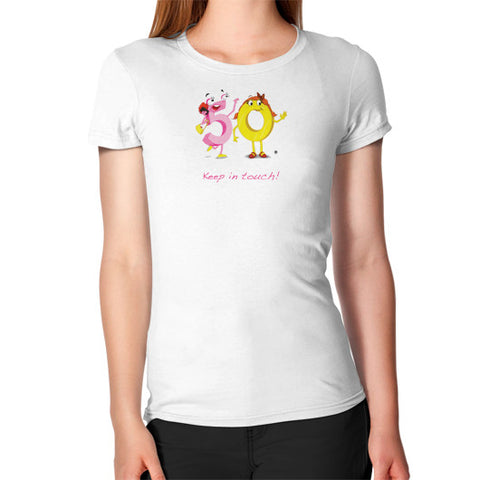 Women's T-Shirt - Keep In Touch - Zelza Zero®  - 1
