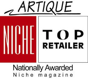NICE Top Retailer Award Artique