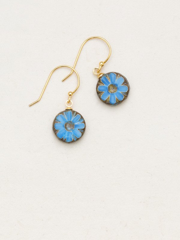 SUMMER SKY FORGET-ME-NOT EARRING