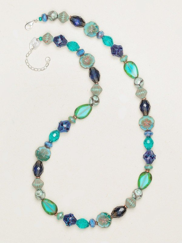 TURQUOISE WATERSCAPE NECKLACE