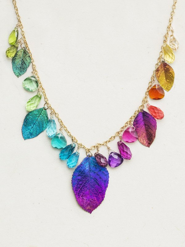 DANCING ELM RAINBOW NECKLACE