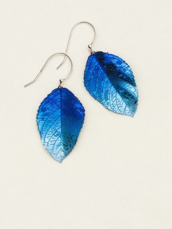NAVY ELM EARRINGS HOLLY YASHI