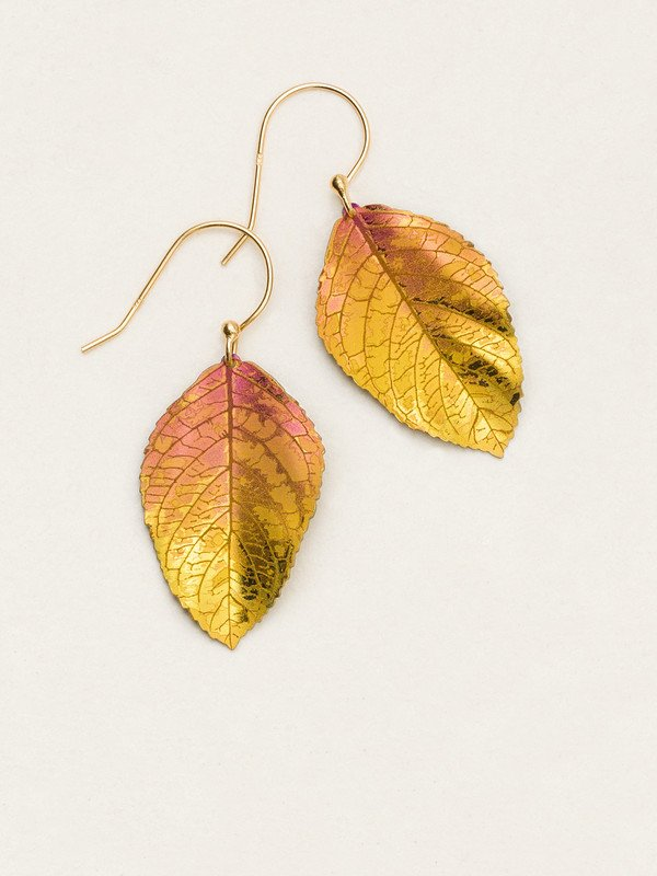 Peach Elm Earrings