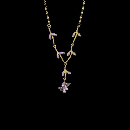 "LAVENDER 16"" NECKLACE"