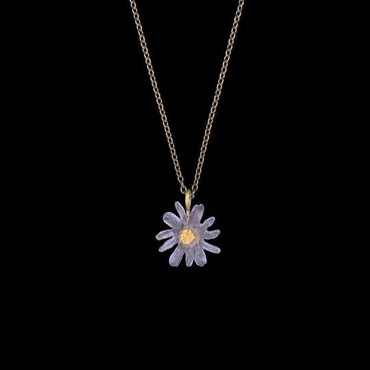 ASTER SINGLE DROP PENDANT NECKLACE