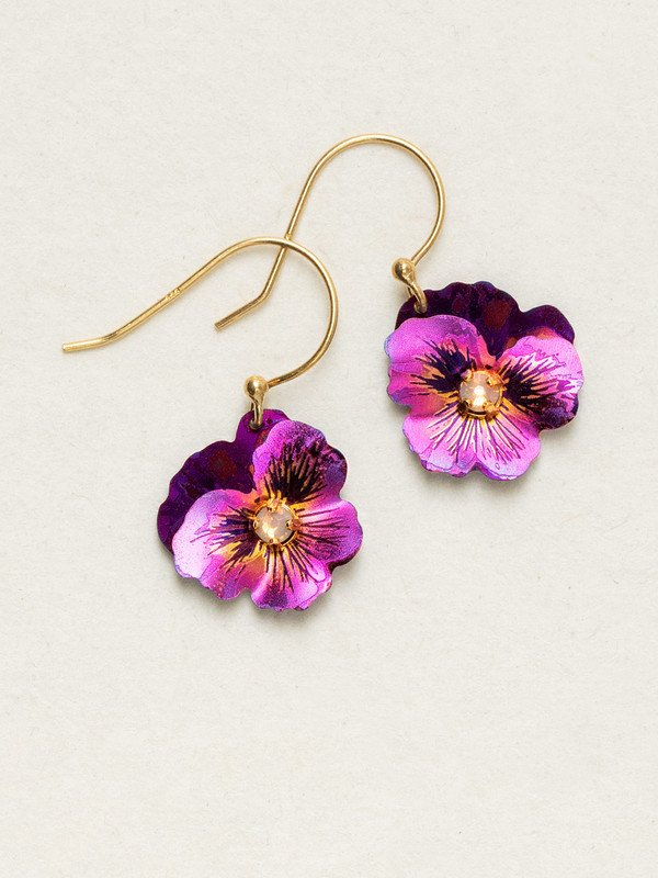 FUCHSIA GARDEN PARTY EARRINGS HOLLY YASHI