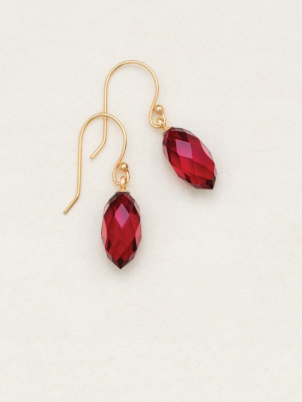 Merlot North Star Earrings
