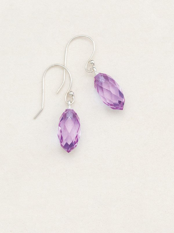 Lilac North Star Earrings