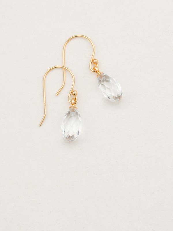 Clear Petite North Star Earring
