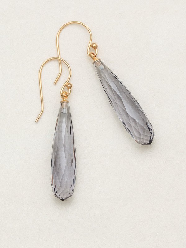 Platinum Avalon Drop Earrings