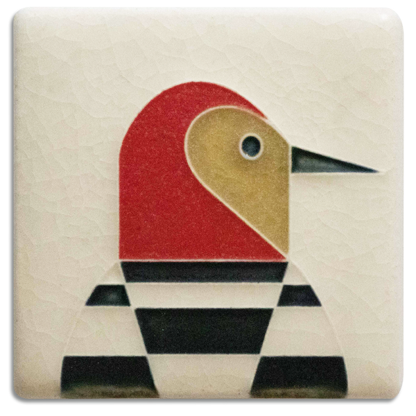 3X3 WOODPECKER TILE