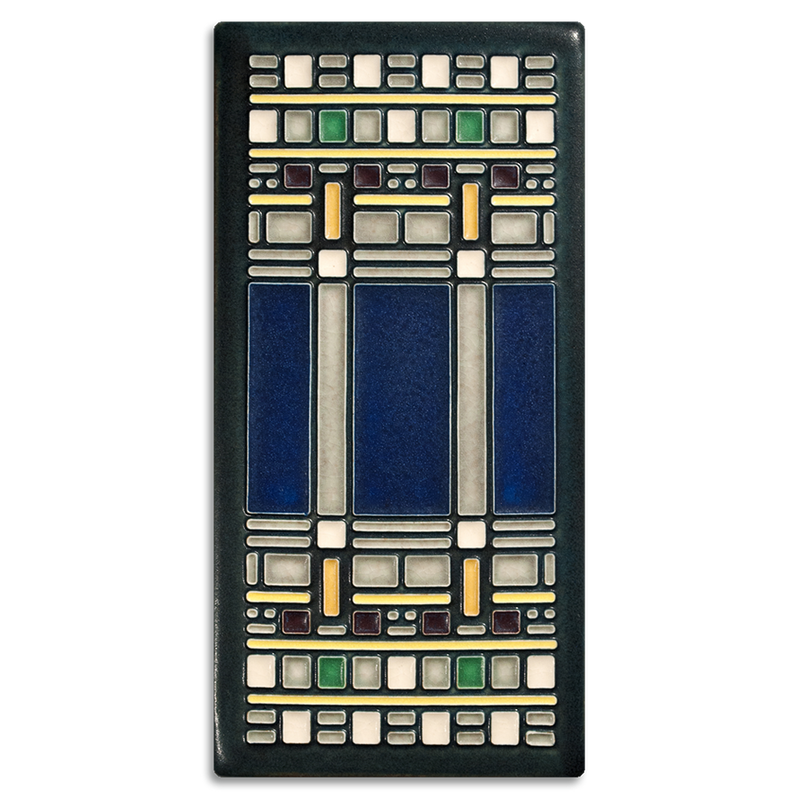4X8 FRANK LLOYD WRIGHT MARTIN HOUSE TILE