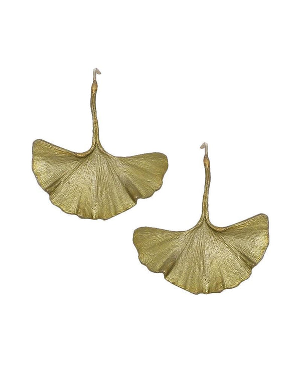 GINKGO LARGE WIRE EARRINGS