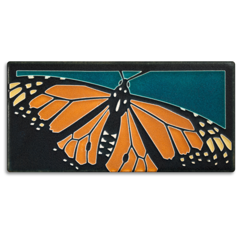 4X8 MONARCH BUTTERFLY TILE