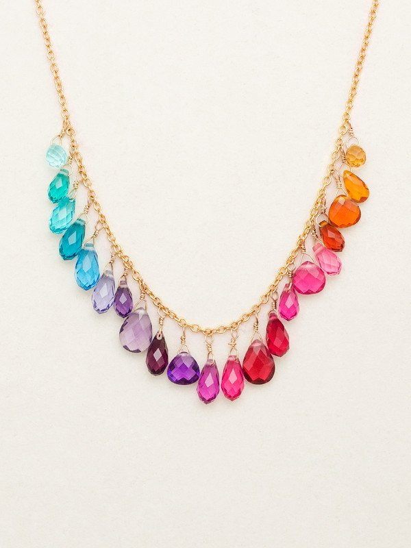 RAINBOW LORELEI NECKLACE