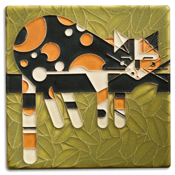 MOTAWI LIMP ON A LIMB CALICO TILE 6X6 6676