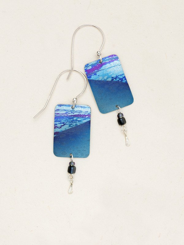 BLUE TIDELINE EARRINGS