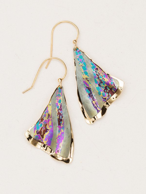 SAGE MISTY POINT EARRINGS