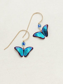 BLUE RADIANCE PETITE BELLA BUTTERFLY EARRINGS HOLLY YASHI