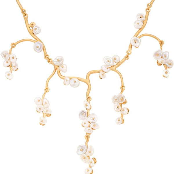 JASMINE BRANCH NECKLACE