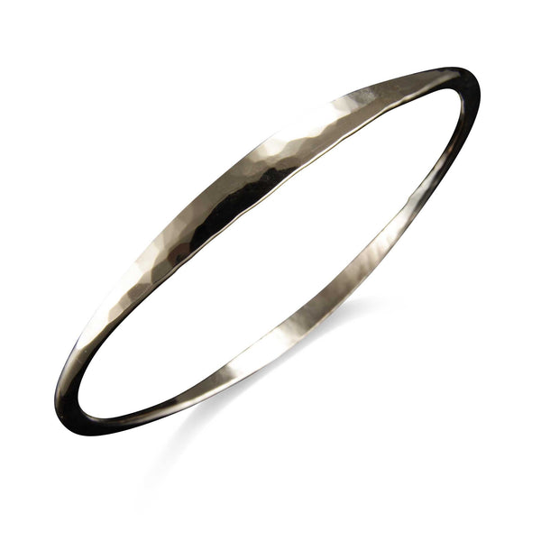 GOLD-FILL HEAVY OVAL BANGLE