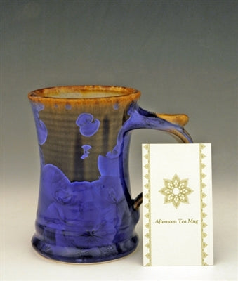 STELLAR AFTERNOON TEA MUG (GOLD/BLUE/COBALT)