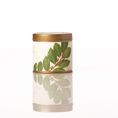 SIGNATURE TIN CANDLE - BAY GARLAND