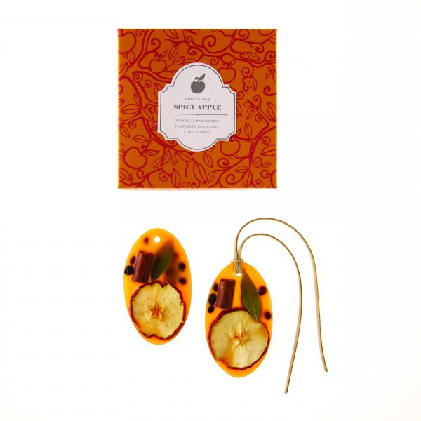 BOTANICAL WAX SACHET SET -  SPICY APPLE