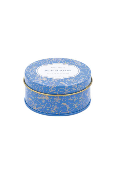 TRAVEL TIN CANDLE - BEACH DAISY