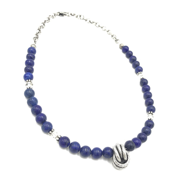 Bold To Be Blue Necklace