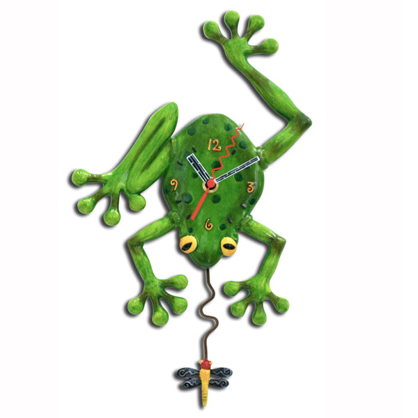 FROG FLY CLOCK