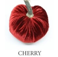 VELVET PUMPKIN - CHERRY