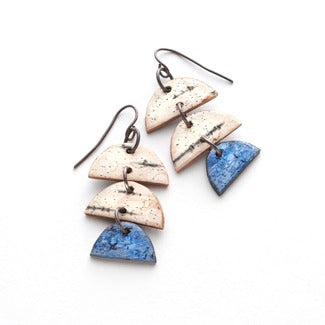 CALDER DROP EARRINGS (BLUE)