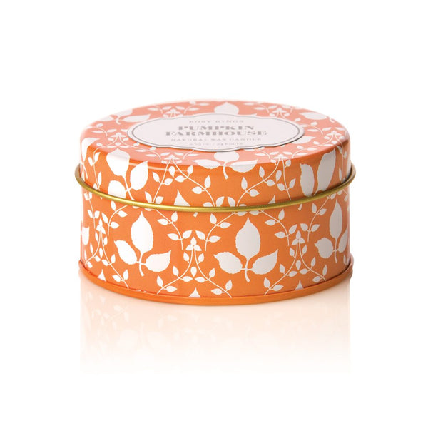 TRAVEL TIN CANDLE - PUMPKIN FARMHOUSE