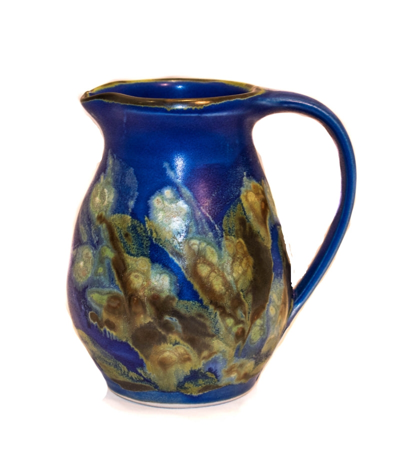 BLUE OVAL SMALL CREAMER