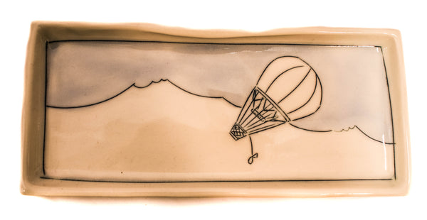 HOT AIR BALLOON TRINKET DISH