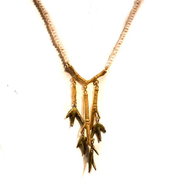 "BAMBOO 18""TRIO NECKLACE"
