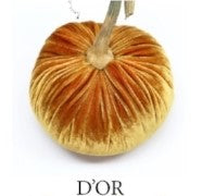 VELVET PUMPKIN - D'OR