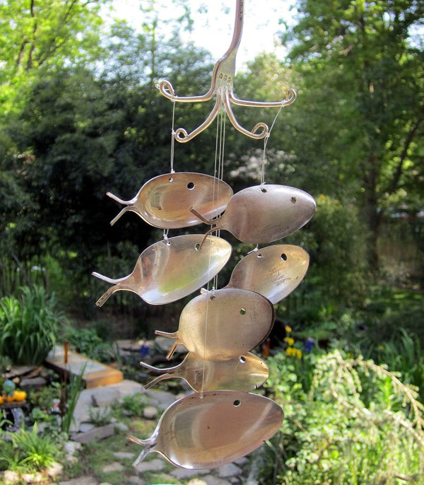 FIVE SPOON FISH WIND CHIME