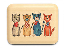 "ASPEN SECRET BOX (1.5"" X 2"") - FOUR CATS"