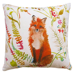 FOX WHITE PILLOW