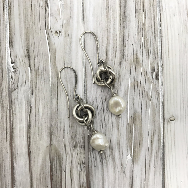 Forget Me Knot Earrings