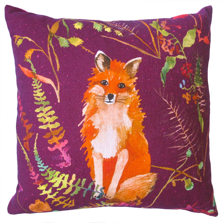 VELVET FOX PILLOW