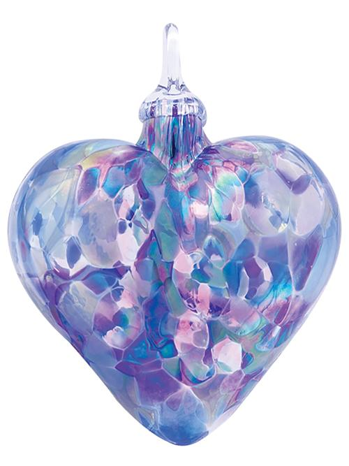 CLASSIC HEART ORNAMENT - LAVENDER